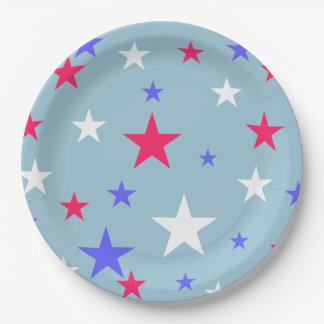 赤白青は紙皿を主演します ペーパープレート