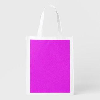 赤紫のスターダスト エコバッグ