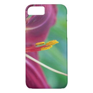 赤紫のワスレグサのiPhone 7 iPhone 8/7ケース