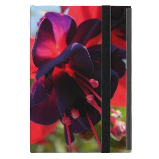赤紫の花のiPadの箱 iPad Mini ケース