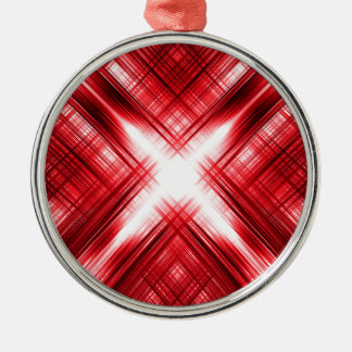 赤線十字 メタルオーナメント