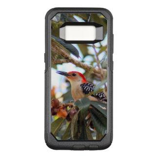 赤膨らまされたキツツキの写真 オッターボックスコミューターSamsung GALAXY S8 ケース