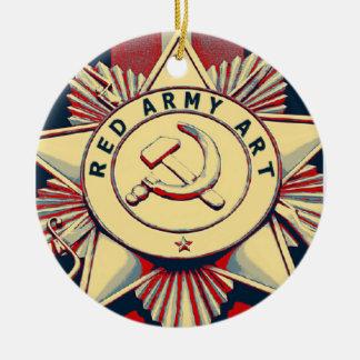 赤軍の芸術 セラミックオーナメント