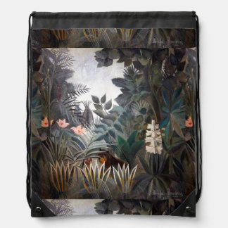 赤道のジャングル ナップサック