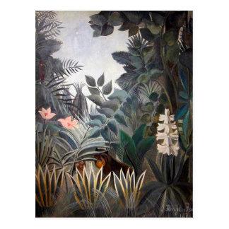 赤道のジャングル ポストカード