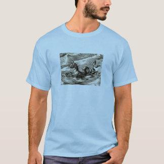 赤道の海のドラゴン Tシャツ