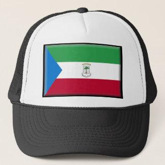 赤道ギニアの旗 キャップ