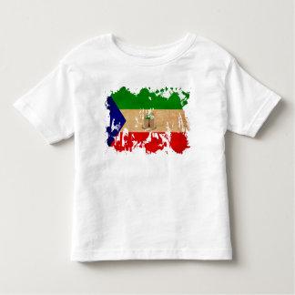 赤道ギニアの旗 トドラーTシャツ