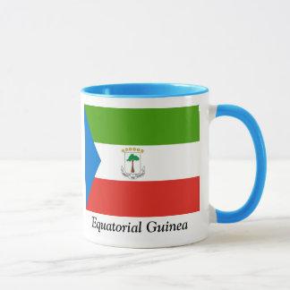 赤道ギニアの旗 マグカップ