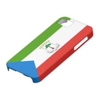 赤道ギニアの旗 iPhone SE/5/5s ケース