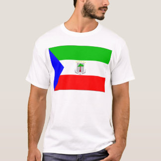赤道ギニアの旗 Tシャツ