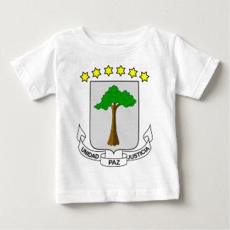 赤道ギニアの紋章付き外衣 ベビーTシャツ