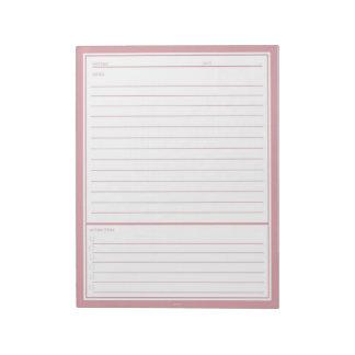 赤面の会合のノート ノートパッド