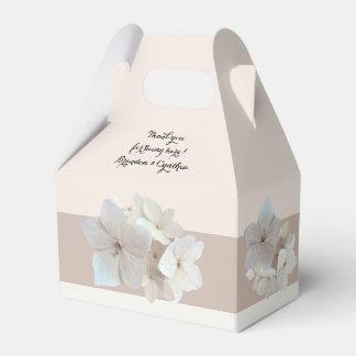 赤面の花の庭園の結婚式/シャワーの好意箱 フェイバーボックス
