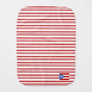 赤: プエルトリコの旗 バープクロス