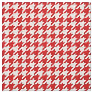 赤、白く千鳥格子のなパターン#2M ファブリック