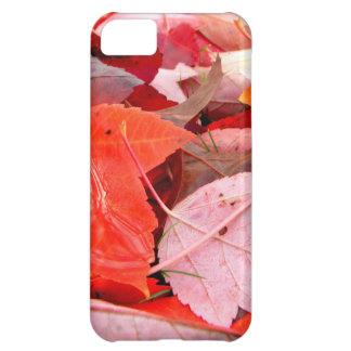 赤 iPhone5Cケース