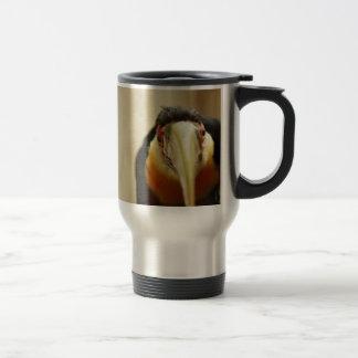 赤breasted Toucan トラベルマグ