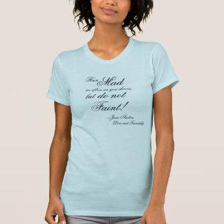 走られた不機嫌は頻繁にジェーンAustenを選びます Tシャツ