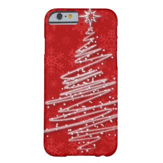 走り書きされたクリスマスツリー BARELY THERE iPhone 6 ケース