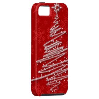 走り書きされたクリスマスツリー iPhone SE/5/5s ケース