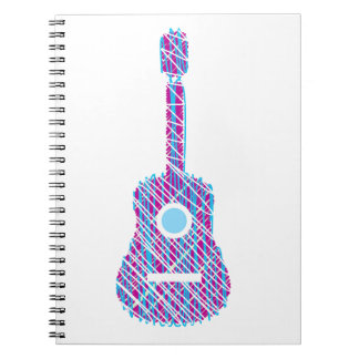 走り書きされるギター ノートブック