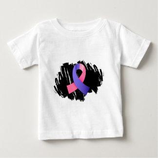 走り書きとのSIDSのピンクの一流 ベビーTシャツ
