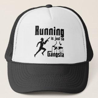 走ることはそうギャングです キャップ