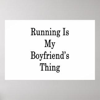 走ることは私のボーイフレンドの事です ポスター