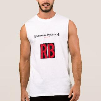 走るClabaughの運動競技 袖なしシャツ