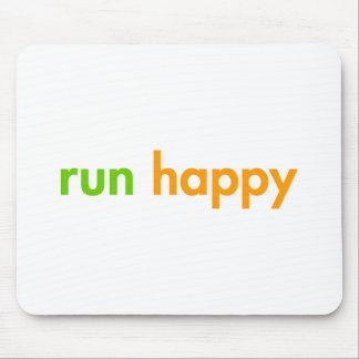走幸せfut緑orange.png マウスパッド