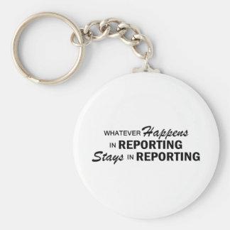 起こるものは何でも-報告 キーホルダー