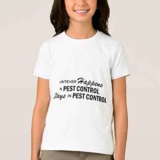 起こるものは何でも-害虫駆除 Tシャツ