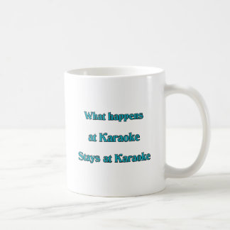 起こる何がカラオケで コーヒーマグカップ