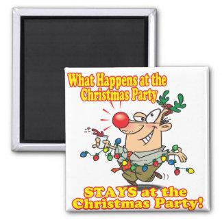 起こる何がクリスマス・パーティの滞在で マグネット