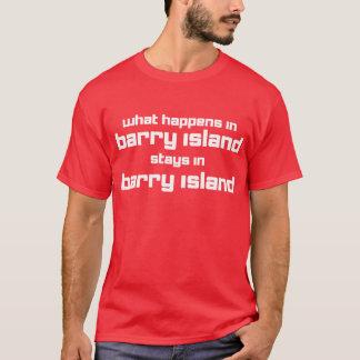 起こる何がバリーで Tシャツ