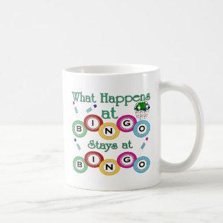 起こる何がビンゴで コーヒーマグカップ