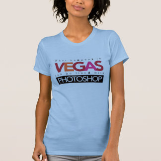 起こる何がベガスで固定することができますPhotoshopと Tシャツ