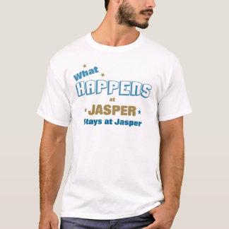 起こる何が碧玉で Tシャツ