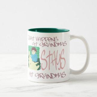 起こる何が祖母で ツートーンマグカップ
