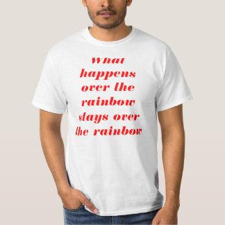 起こる何が Tシャツ