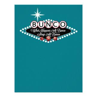 起こる何がBuncoのおもしろいでBuncoの滞在で レターヘッド