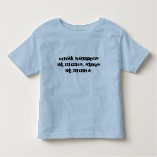 起こる何がMimiで、とどまりますMimi's.に トドラーTシャツ