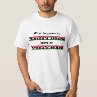 起こる何がNonnaの家で Tシャツ