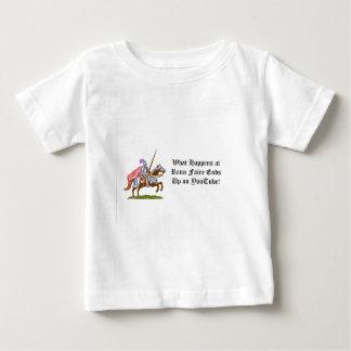 起こる何がrennのfaireで ベビーTシャツ