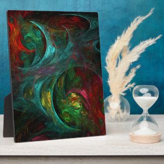 起源の新星の抽象美術のプラク フォトプラーク