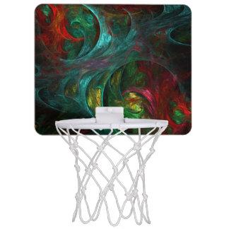 起源の新星の抽象美術 ミニバスケットボールゴール