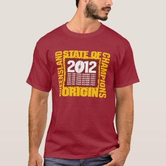起源の2012州 Tシャツ