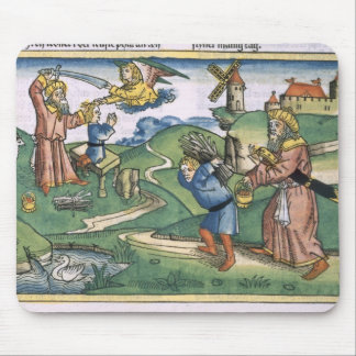起源21アイザック、frの提供している1-14年のアブラハム マウスパッド