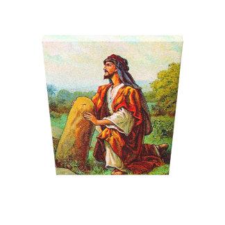 起源28ヤコブに神のキャンバスからの夢があります キャンバスプリント